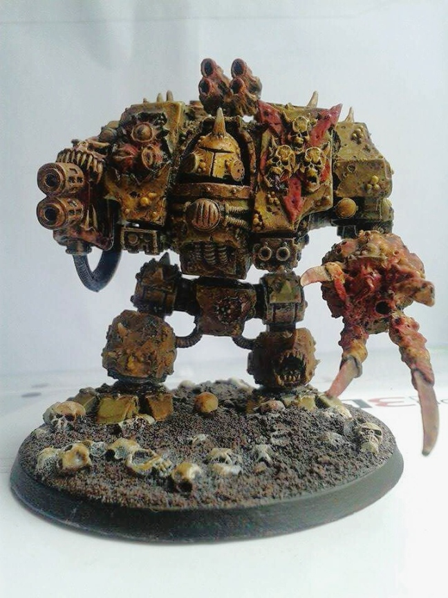 Tony's Death Guard Dreadnought/Helbrute.